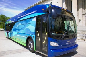 electric bus Winnipeg